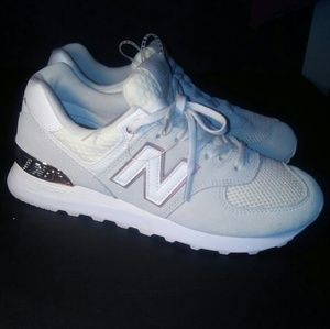 New Balance 547 suede sneakers